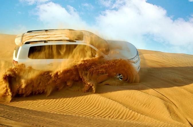 Morning Desert Dune Bash from Dubai