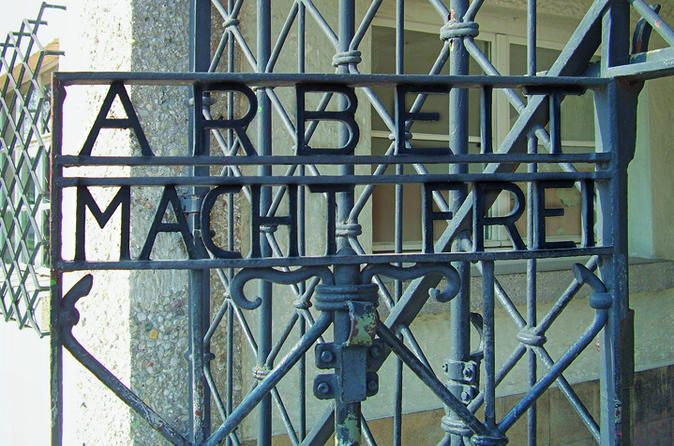 Half-Day Dachau Concentration Camp Memorial Site Walking Tour with a Local Guide from Munich by Train