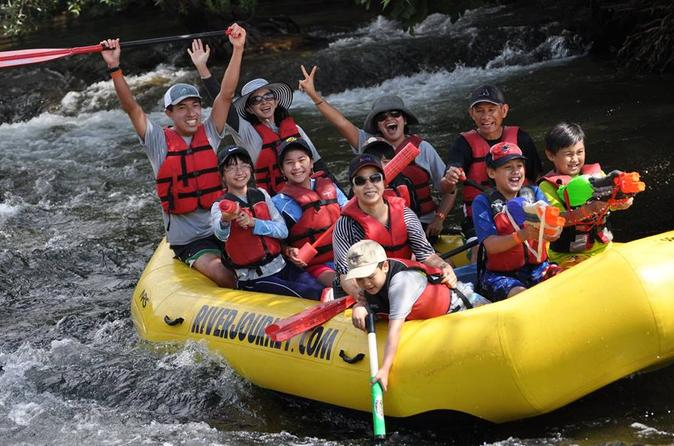 Family float trip on the stanislaus river near yosemite in knights ferry 304075