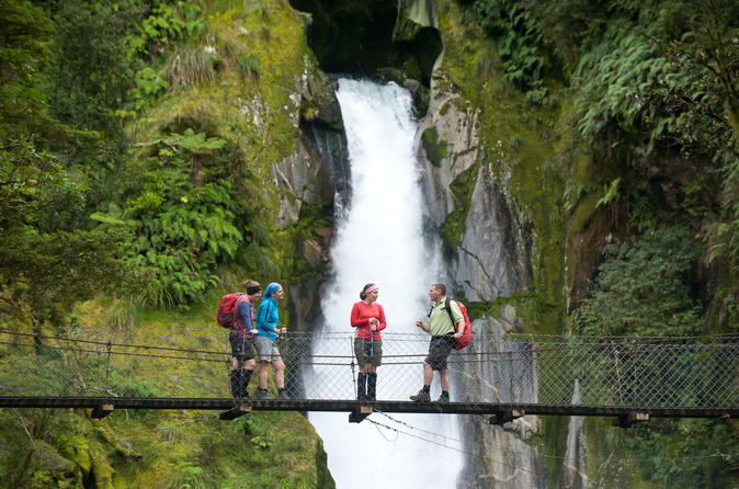 Full-Day Milford Sound Walk and Cruise Including Scenic Flights from Queenstown