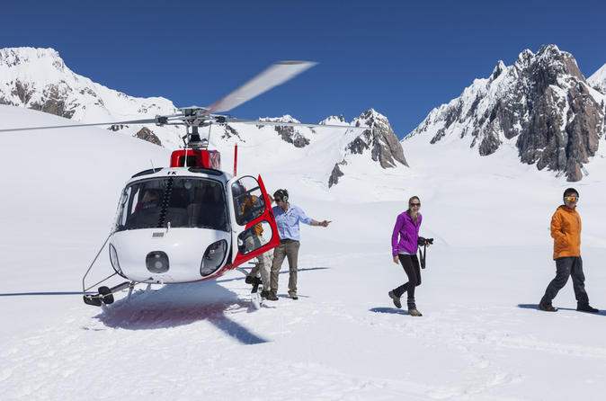 Franz josef glacier helicopter flight with snow landing in franz josef glacier 279968