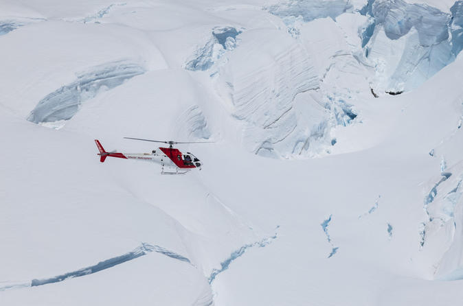 Mount cook spectacular helicopter flight from franz josef in franz josef glacier 400036
