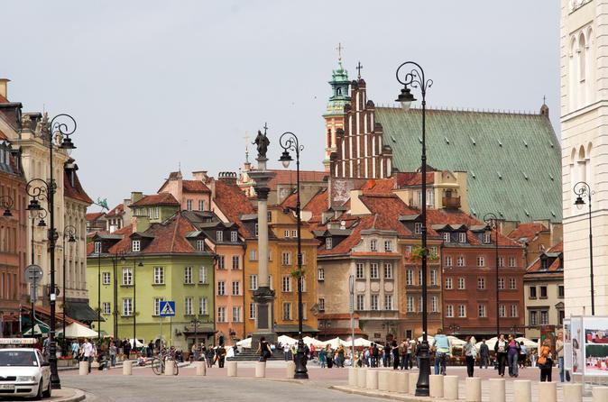 Excursão turística a Varsóvia com guia falante de inglês