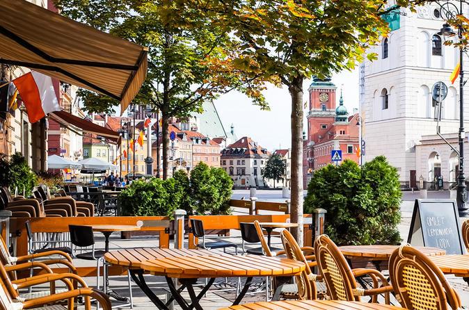 Excursão Turística Vespertina na cidade de Varsóvia