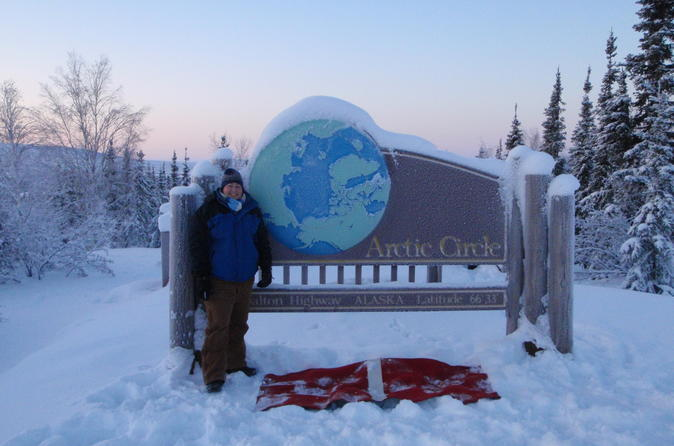 16-Hour Tour of the Arctic Circle in Winter from Fairbanks