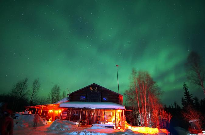 Arctic Circle Aurora Borealis Tour By Air and Car from Fairbanks