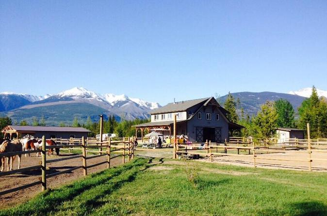 Horseback Ride through Canadian Mountains