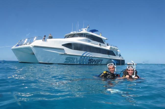 Outer Great Barrier Reef Dive and Snorkel Cruise from Cairns