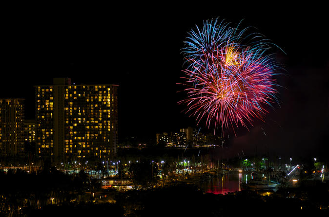 Flashing Skies Fireworks - 30 Min Helicopter tour - Doors Off or On