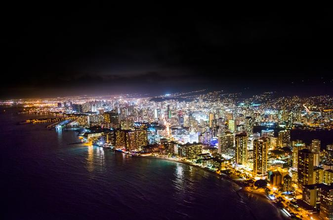 Honolulu City Lights - 30 Min Helicopter Tour - Doors Off or On