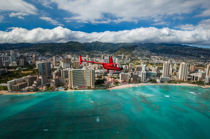 Royal Crown Of Oahu - 60 Min Helicopter Tour - Doors Off Or On - Honolulu & Royal Crown Of Oahu - 60 Min Helicopter Tour - Doors Off Or On ...