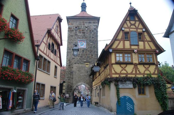 Excursão de um dia pela Estrada romântica, Rothenburg e Harburg saindo de Munique