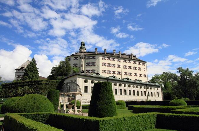 Viagem de um dia para Innsbruck e à Swarovski Crystal Worlds saindo de Munique