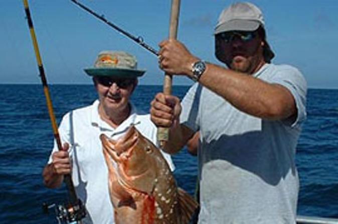 Viagem de um dia pela praia em Clearwater partindo de Orlando, inclui pescaria em mar aberto