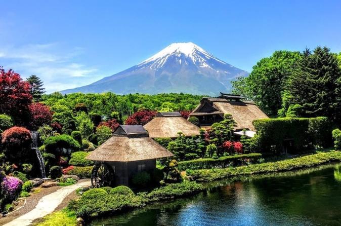 Excursão de Ônibus com Um Dia de Duração pelo Monte Fuji, com Fuji Airways 4-D e Experiência Ninja