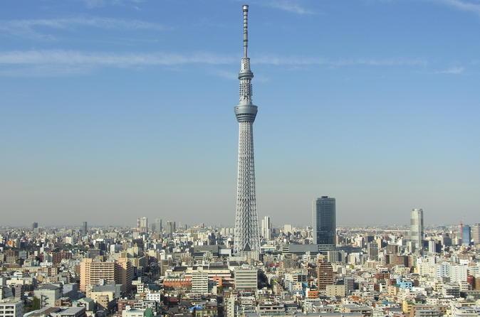 Excursão de ônibus de um dia em Tóquio