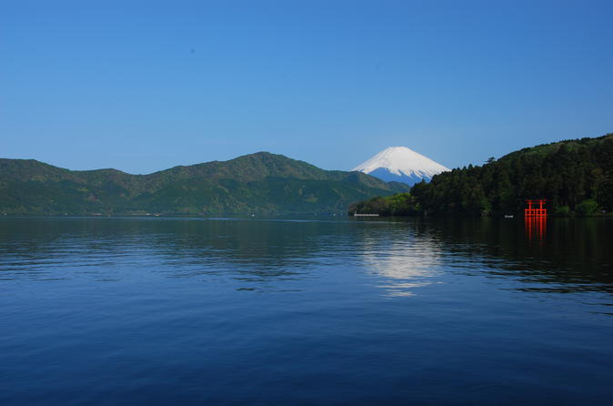 Mt Fuji and Hakone 1-Day Bus Tour return by Bullet Train (Shinkansen)