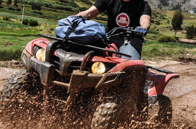 Excursão de quadriciclo ATV por Maras e Moray partindo de Cusco