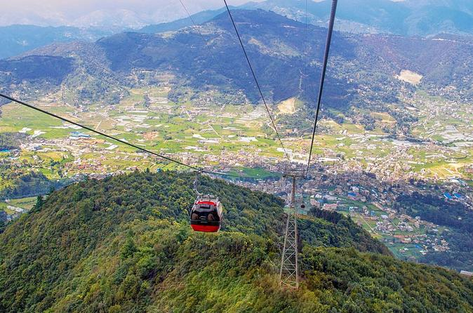 Chandragiri Hill Cable Car Tour with Hotel Transfers from Kathmandu