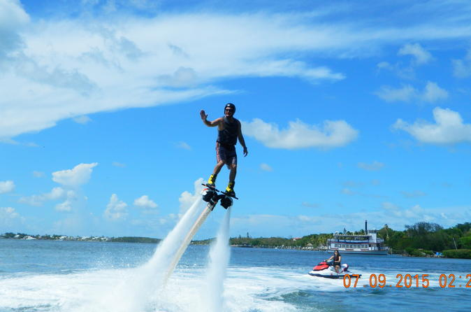 Jet pack water flights in key largo in key largo 302242