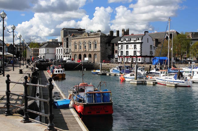 Historic Plymouth luxury one-day private guided tour from Cornwall
