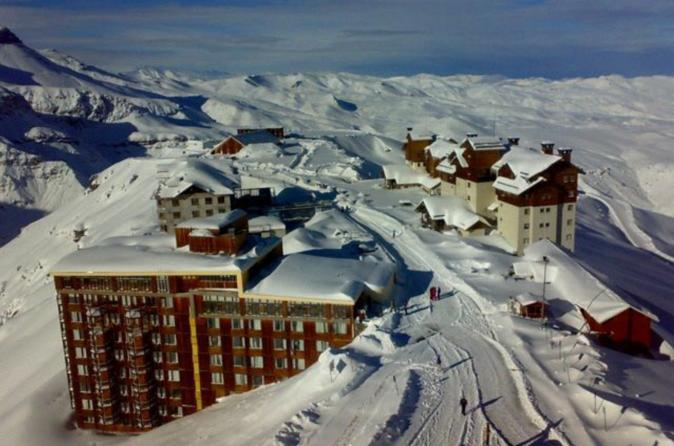 Excursão para grupos pequenos: Valle Nevado e Farellones, saindo de Santiago