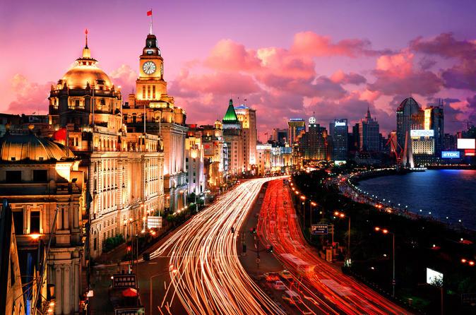 Private Evening Tour: VIP Huangpu River Cruise and Shanghai Lights