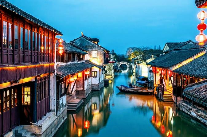 Private One Day Excursion to Oriental Venice SuZhou and ZhouZhuang Water Village