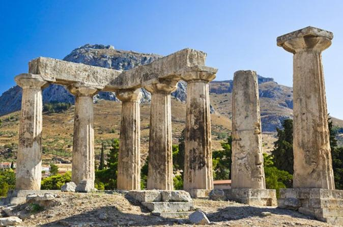 ancient corinth and daphni monastery half day tour from athens 2019