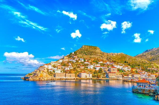 Full Day Cruise to Greek Islands from Athens: Poros - Hydra - Aegina