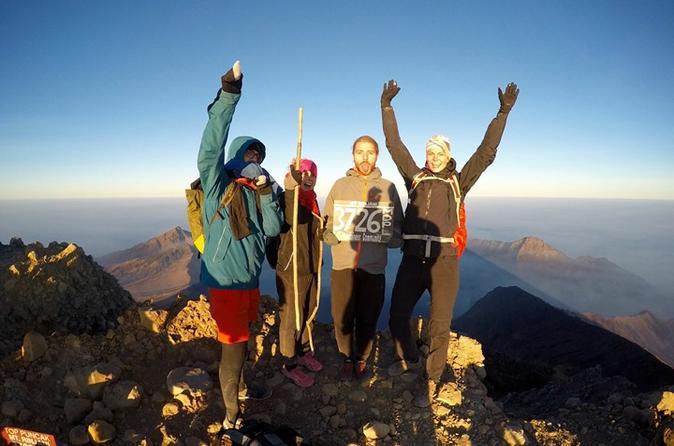 4 day mt rinjani volcano trekking tour from lombok in mataram 285706