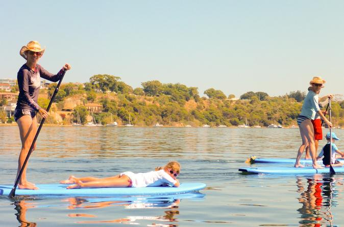Stand up paddle boarding lesson plus guided paddle on perth s swan in perth 298005