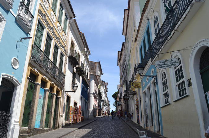Cruzeiro e Excursão Particular por Salvador, Bahia, e Antigas Cidades Históricas de Bonfim e Barra