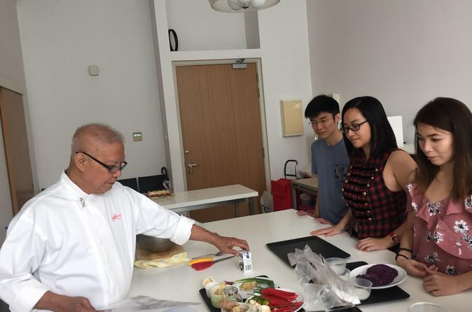 Singapore flavour cooking class