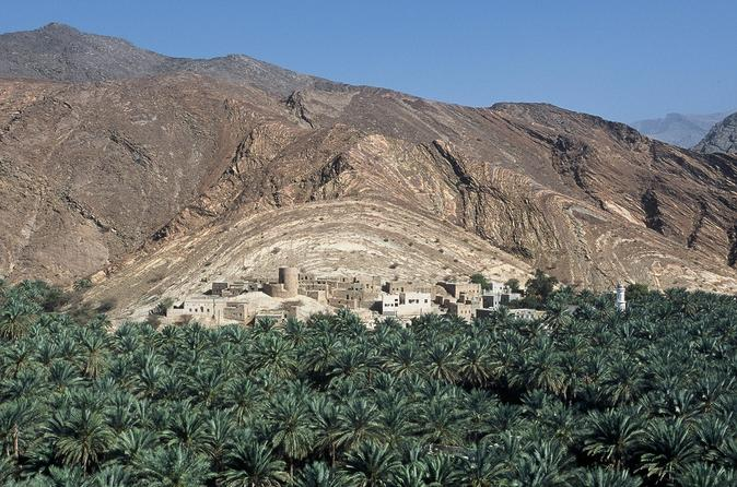 Cool and Green Garden Tour from Muscat