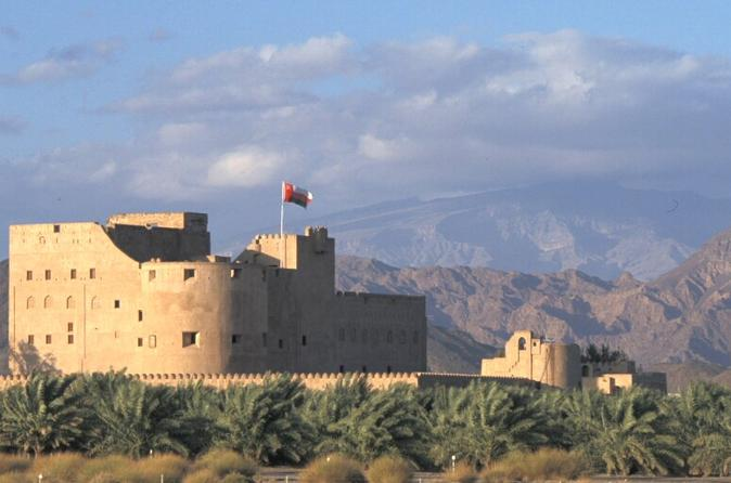Private Inspiring Interior Tour of Nizwa Souq and Fort, Bahla Fort and Jabrin Fort