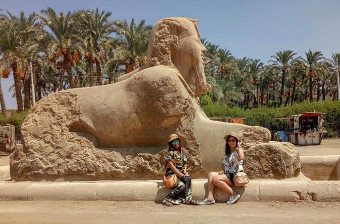 Day Tour : Giza Pyramids Memphis and Dahshur