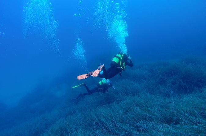 Clase de submarinismo para principiantes en Mallorca
