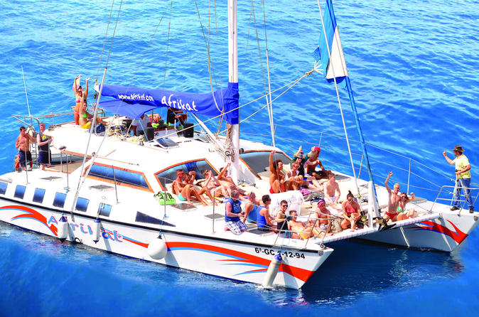 Sail on board of the catamaran afrikat in puerto rico 299146