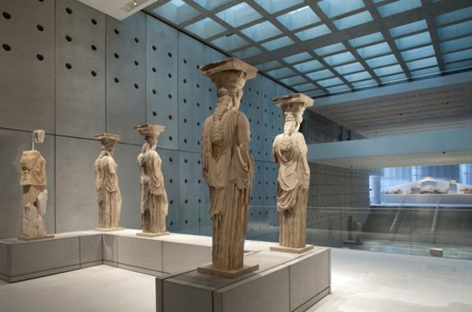 Excursão para a Acrópole de Atenas e o Novo Museu da Acrópole