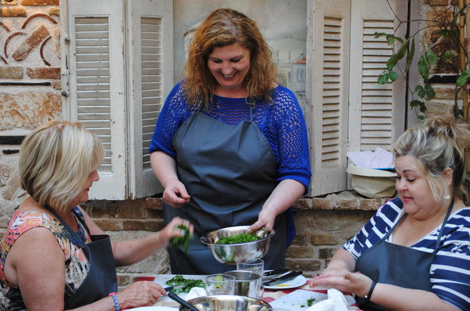 Greek small group cooking class in an athens tavern in athens 285305