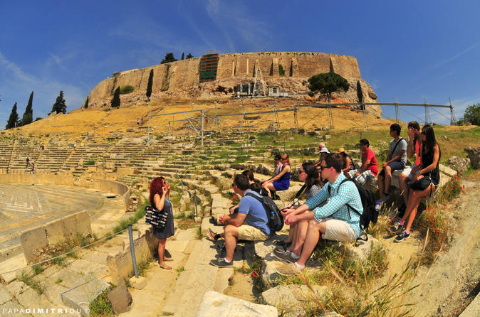 Skip the Line: Acropolis Ancient Agora and Attalos Museum Small Group Tour