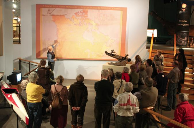 Canadian canoe museum group guided tour in peterborough 289643