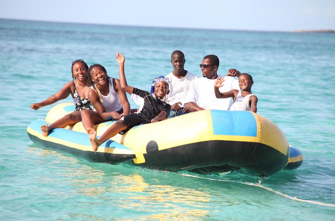 Banana Boat Adventure in Nassau