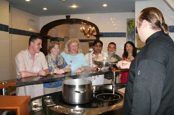 Nassau Cooking Demonstration and Lunch at Graycliff Restaurant