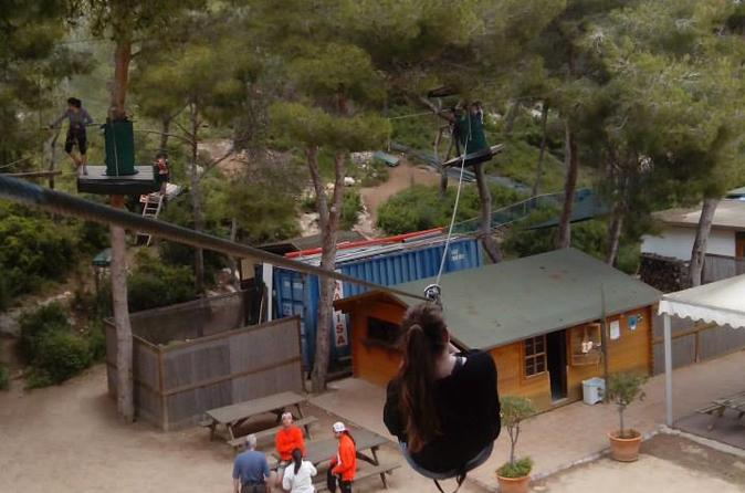 Tarragona jungle trek park entrance in tarragona 309037