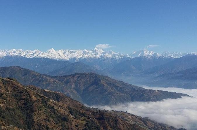 Nagarkot Sunrise Day Tour view of Himalayan Ranges Including Everest