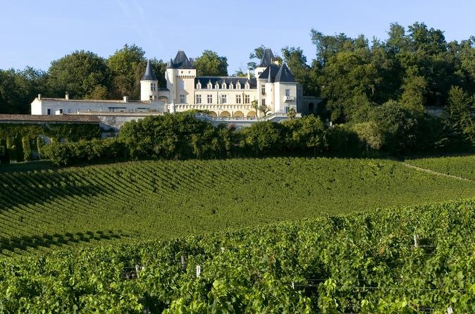 Bordeaux wine tour three wine regions chateaux wine tastings and lunch in bordeaux 149517
