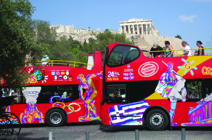 City sightseeing athens hop on hop off tour in athens 298589