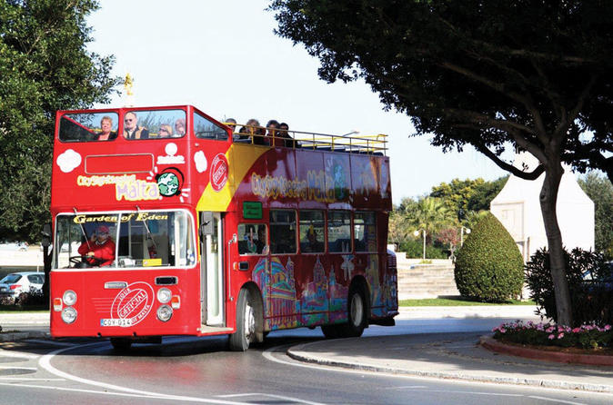City Sightseeing Malta Hop-On Hop-Off Tour